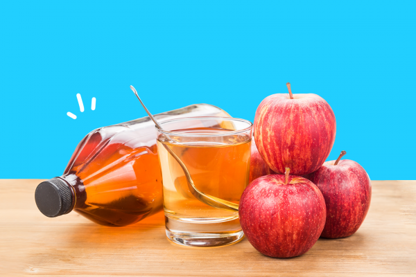 Apple cider vinegar to shrink epididymal cyst naturally