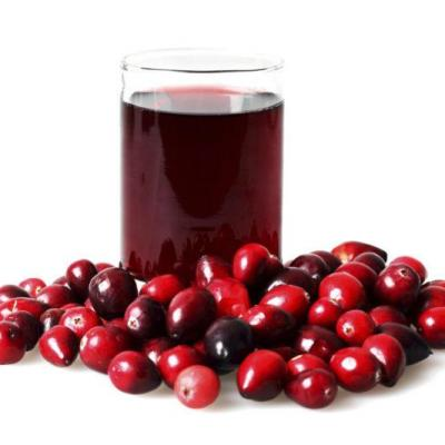 Cranberry juice for testicular pain
