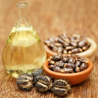 Use of castor oil against uterine fibroids